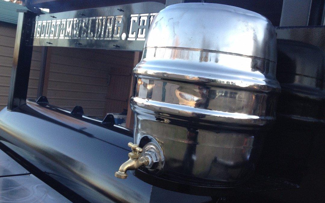 Custom Cooker Water Tank