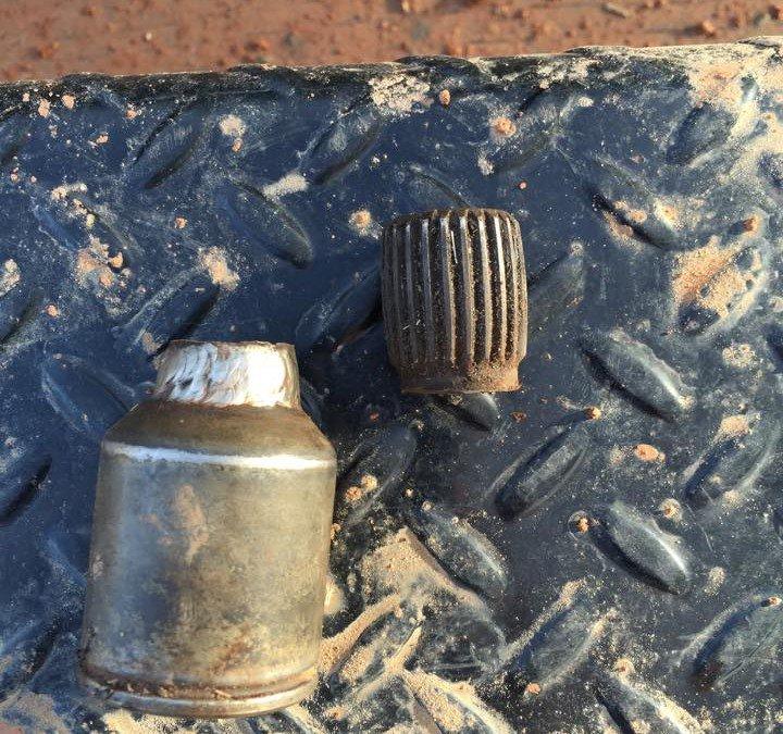 Drive shaft welding test