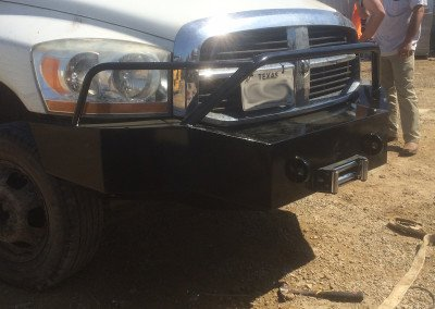 Powder Coated Custom Built Bumper
