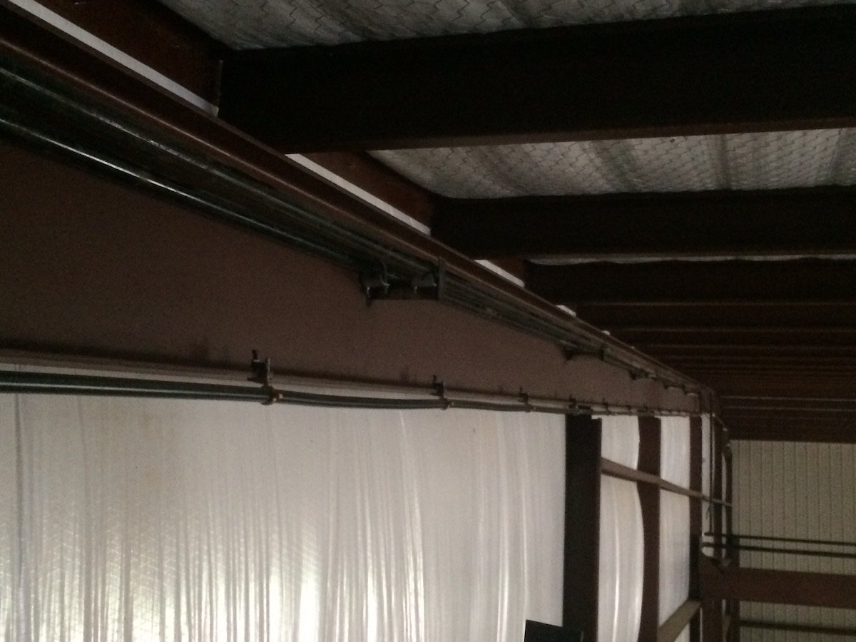 Gas/ Air Lines Welded In Place